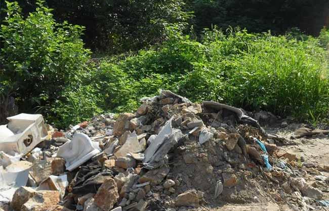 建筑垃圾污染