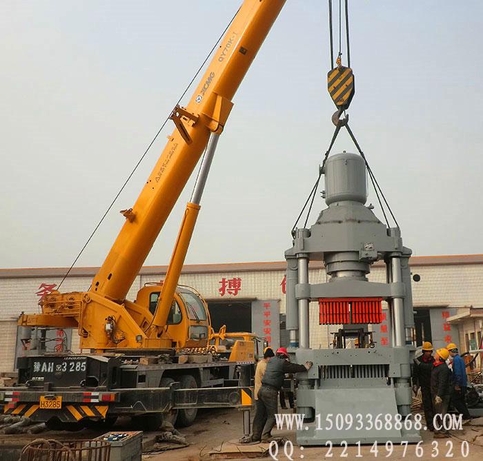 YMZA1200-36液压砖机发货现场